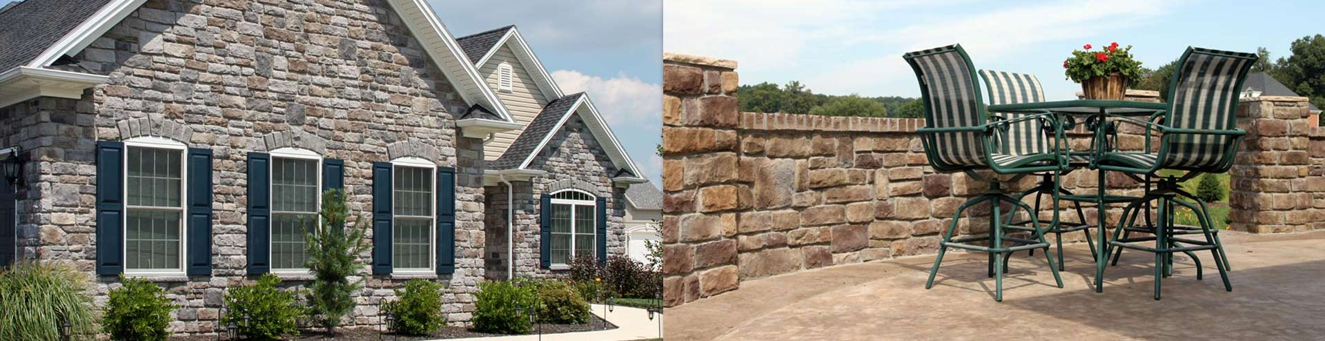 StoneCraft, manufactured stone veneer from Ambler Coal Company